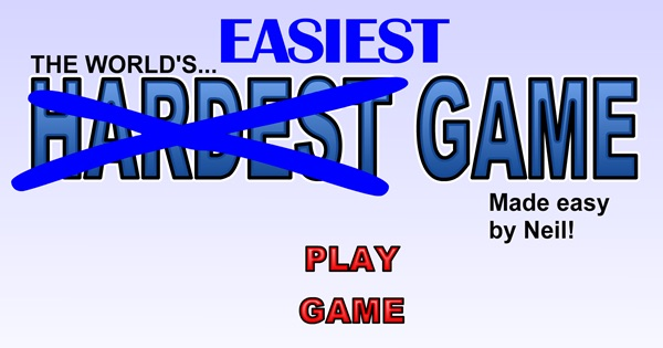 The World's Easiest Game