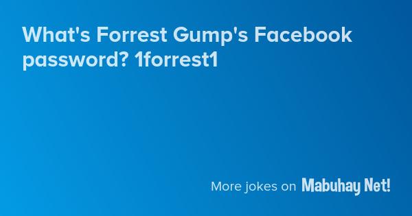 jokes about forrest gump